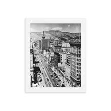 Load image into Gallery viewer, Framed poster - Main Street, Salt Lake City, 1950