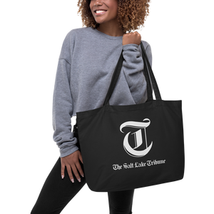 Tribune logo tote bag