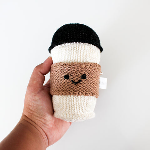 Rattle - Knit Coffee Cup