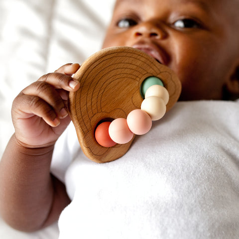 Teether - Rainbow Teething Ring