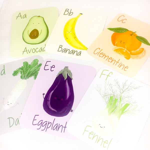 Flash Cards - ABC Farmer's Market