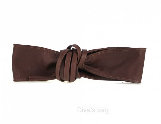 Sash Belt Burgundy New