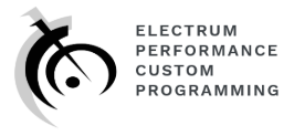 Electrum Performance Custom Programming