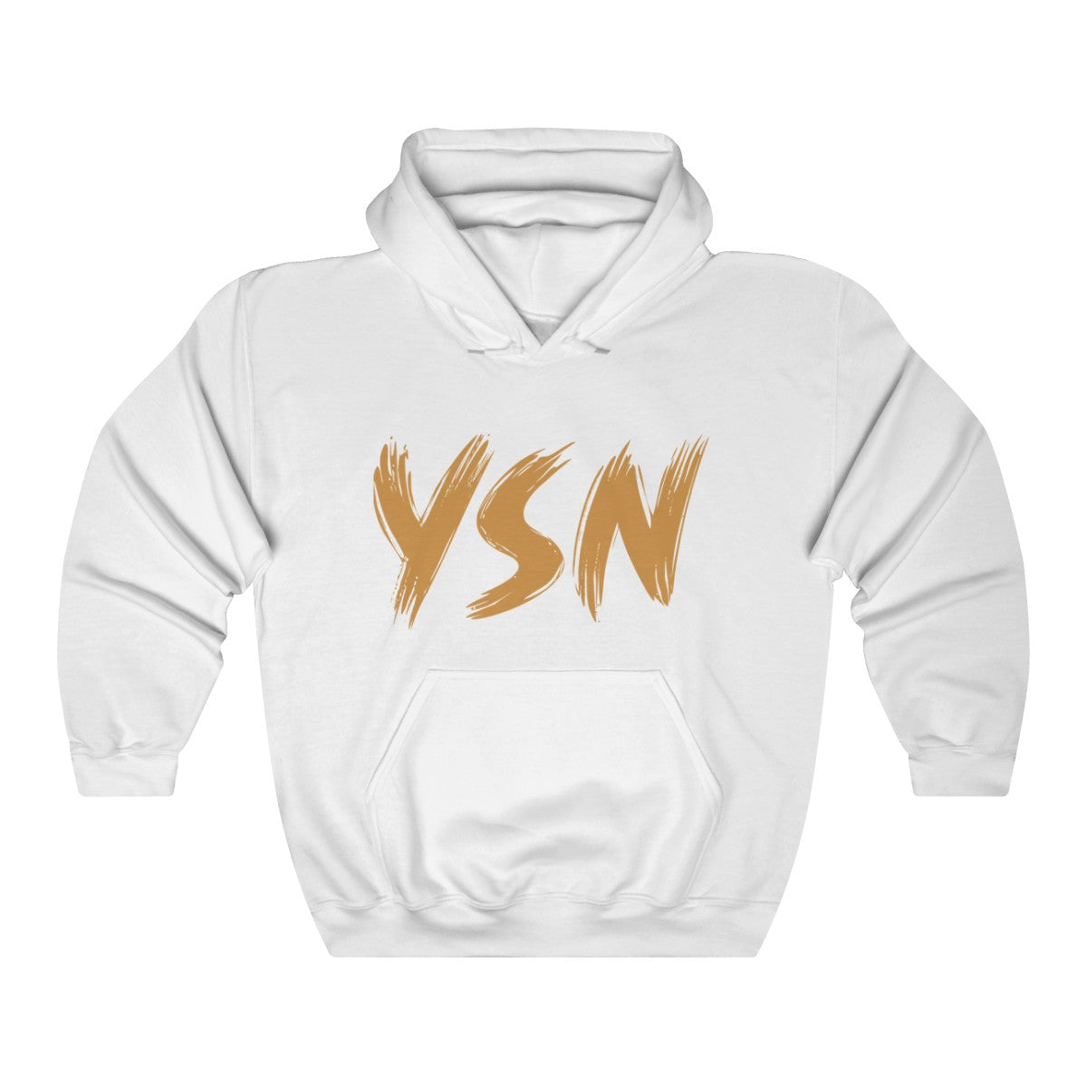 YSN Official Hoodie - White