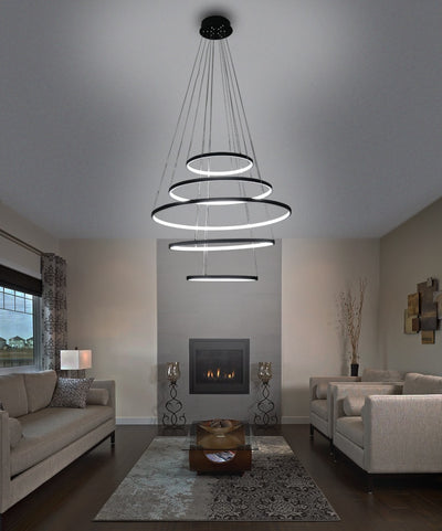 Andromeda- Hanging Dimmable Ring Lamps