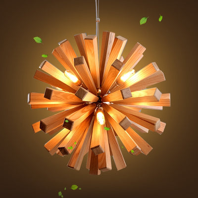 Loft Nordic Wooden Pendant Light