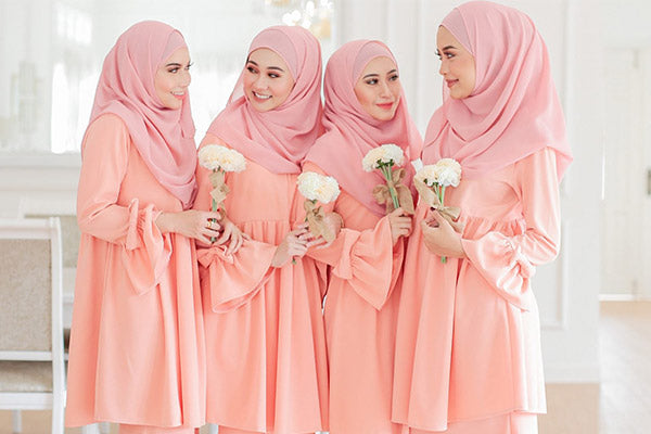 Bridesmaid Collections by Qaysaa Hijabs