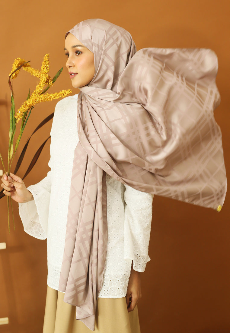 Qisma Satin Shawl
