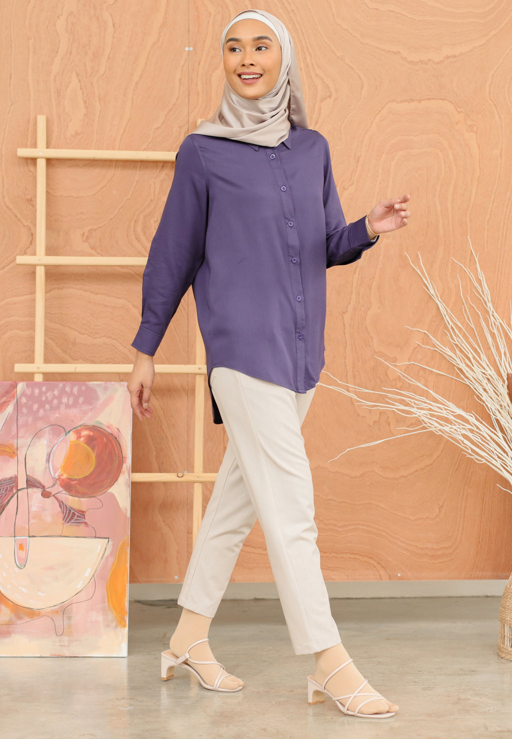 Tahiraa Basic Top