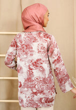 Load image into Gallery viewer, Irsaa Printed Top (Pastel Red)