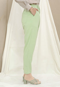 Sawda Tapered Pants (Apple Green)