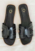 Load image into Gallery viewer, Hazel Sandals (Black)