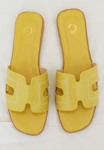 Hazel Sandals (Yellow)