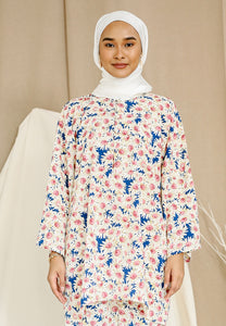 Daisy Baggy Shirt (Royal Blue)