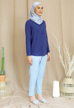 Load image into Gallery viewer, Wafaa Basic Top (Royal Blue)