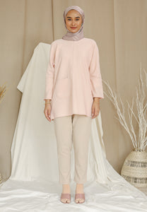 Mirha Plain Top (Soft Pink)