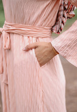 Load image into Gallery viewer, Kaleela Crumple Dress (Pastel Peach)