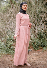 Load image into Gallery viewer, Almira Crumple Dress (Dusty Pink)
