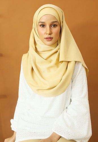 Hasnaa Cotton Shawl (Soft Brown)