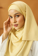 Load image into Gallery viewer, Hasnaa Cotton Shawl (Soft Brown)