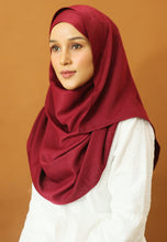 Load image into Gallery viewer, Hasnaa Cotton Shawl (Maroon)