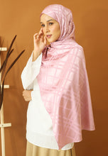 Load image into Gallery viewer, Qisma Satin Shawl (Dusty Pink)
