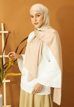 Load image into Gallery viewer, Nisma Satin Shawl (Champagne)
