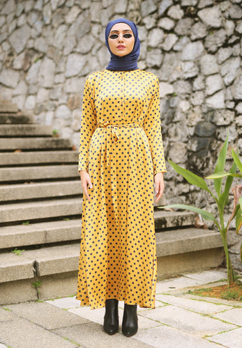Haniya Princess Dress (Yellow)