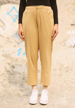 Load image into Gallery viewer, Sawda Tapered Pants (Brown)