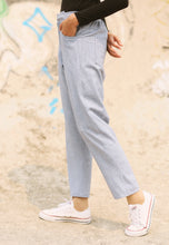 Load image into Gallery viewer, Sawda Tapered Pants (Soft Blue)