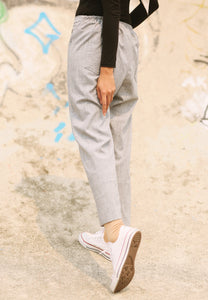 Sawda Tapered Pants (Soft Grey)