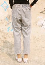 Load image into Gallery viewer, Sawda Tapered Pants (Soft Grey)