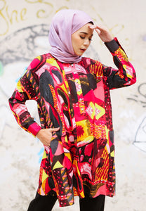 Feeda Batwing Top (Red)