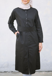 Hudaa Belted Top (Black)
