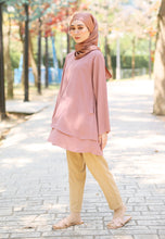 Load image into Gallery viewer, Leeya Layered Top (Brownish Pink)