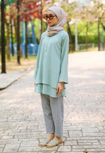 Load image into Gallery viewer, Leeya Layered Top (Dusty Green)