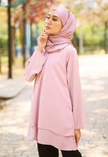 Load image into Gallery viewer, Leeya Layered Top (Dusty Pink)