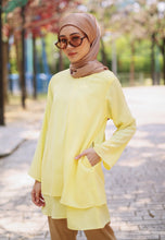 Load image into Gallery viewer, Leeya Layered Top (Soft Yellow)