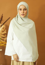 Load image into Gallery viewer, Atiyya Cotton Shawl (Mint Green)