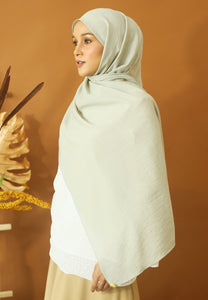 Atiyya Cotton Shawl (Mint Green)