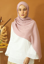 Load image into Gallery viewer, Atiyya Cotton Shawl (Dusty Pink)