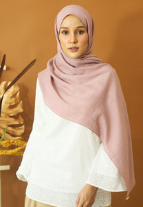 Atiyya Cotton Shawl (Dusty Pink)