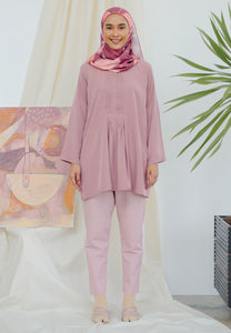 Stella Plain Top (Dusty Pink)