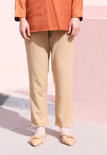 Sawda Tapered Pants (Brown)