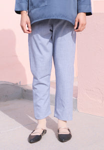 Sawda Tapered Pants (Soft Blue)