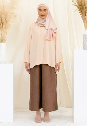 Shurah Baggy Top (Pastel Peach)