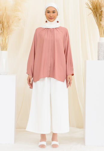 Shurah Baggy Top (Rose)
