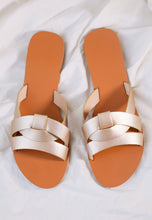 Load image into Gallery viewer, Chanda Slide Sandals (Gold)