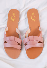 Load image into Gallery viewer, Chanda Slide Sandals (Sienna)