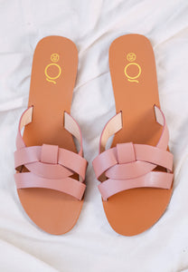 Chanda Slide Sandals (Sienna)